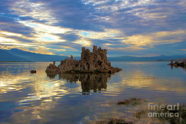 Photograph - Mono Lake Tufas Sunset by Adam Jewell