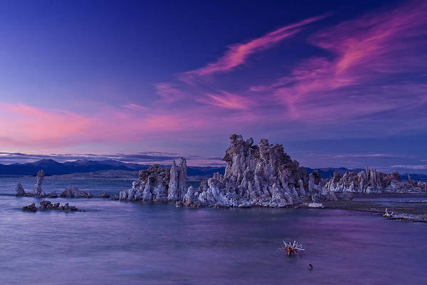 Photograph - Mono Lake's Fiery Sky by Wes and Dotty Weber