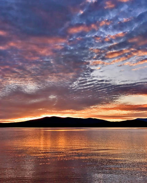 Photograph - Montana Sunset by Endre Balogh