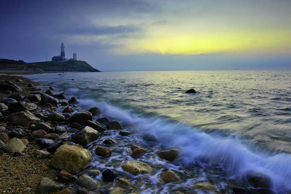 East Point Photograph - Montauk Point Dawn by Rick Berk