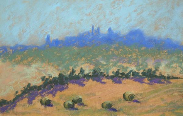 Painting - Montepulciano by Janet Biondi