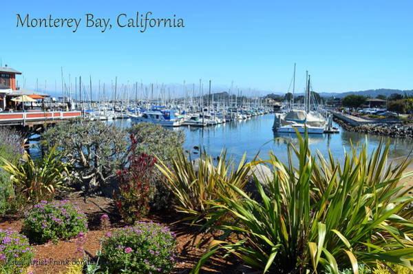Digital Art - Monterey Bay I by Visual Artist Frank Bonilla