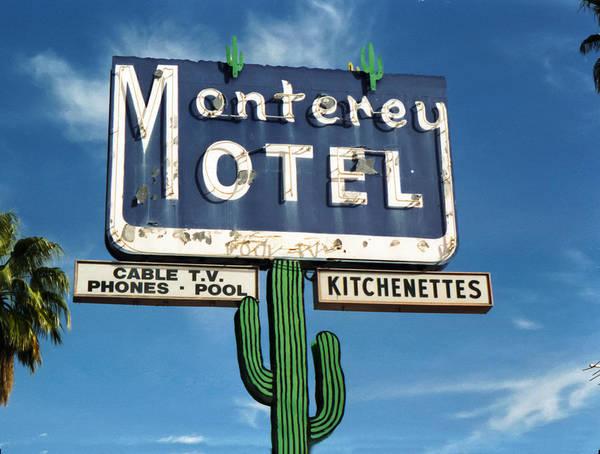 Wall Art - Photograph - Monterey Motel by Matthew Bamberg