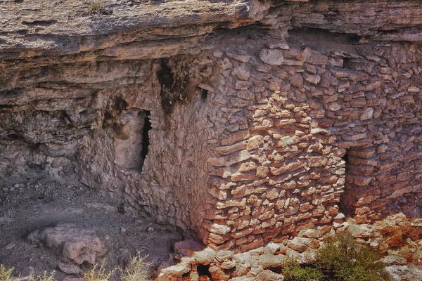 Photograph - Montezuma Well Dwelling by Tom Singleton