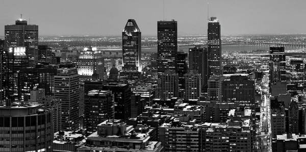 Photograph - Montreal City Black And White by Pierre Leclerc Photography