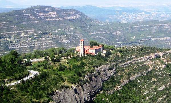 Photograph - Montserrat Mountain View Of A Monastery And Panorama Near Barcelona Spain by John Shiron