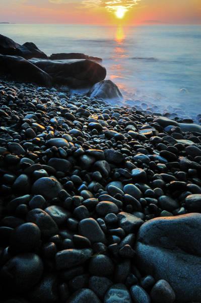 Photograph - Monument Cove - Acadian Coastal Sunrise by T-S Fine Art Landscape Photography