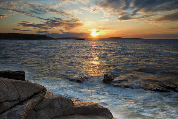 Photograph - Monument Cove Sunrise by Sara Hudock