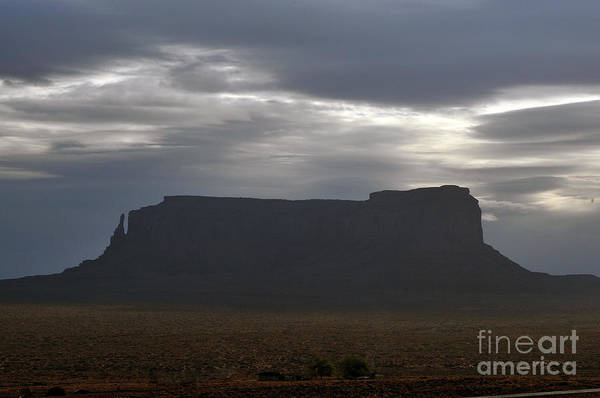 Photograph - Monument Valley Butte by Dan Friend