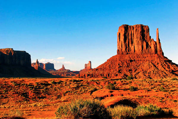 Photograph - Monument Valley by Rick Wicker