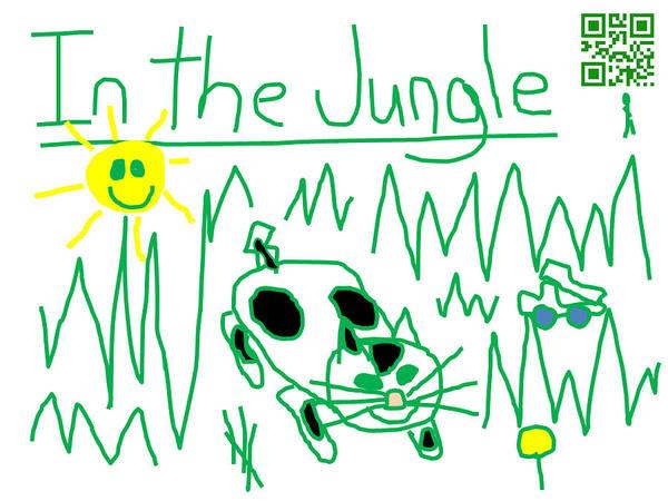 Dump Truck Digital Art - Moo Kat In The Jungle by Jeffrey Church