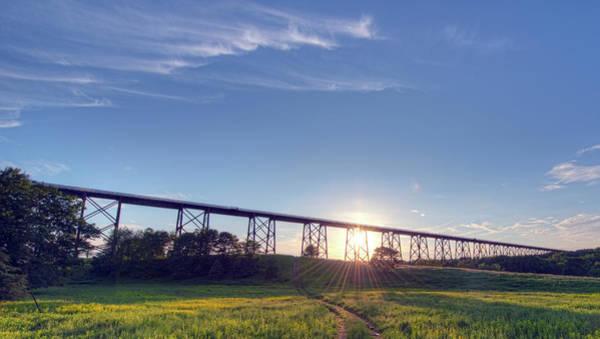 Photograph - Moodna Viaduct by Dan McManus