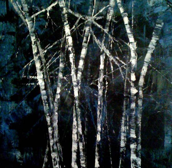 Painting - Moods Of Winter by Holly Suzanne