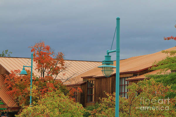 Photograph - Moody Sky On Copper by Deborah Benoit