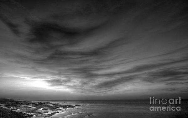 Wall Art - Photograph - Moody Sunset by Lee-Anne Rafferty-Evans
