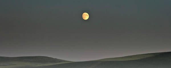 Photograph - Moon Over The Palouse by Albert Seger