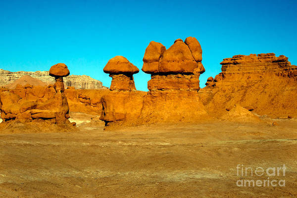 Goblin Valley State Park Photograph - Moon Scape by Robert Bales