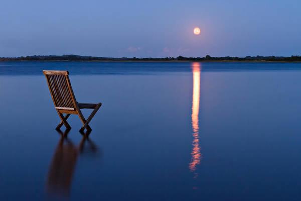 Glare Photograph - Moon View by Gert Lavsen