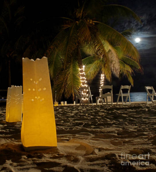Wall Art - Photograph - Moonlit Celebration In Jamaica by Lee Dos Santos