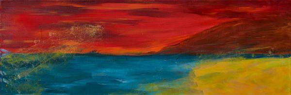 Wall Art - Painting - Moonlit Sea by Judi Goodwin