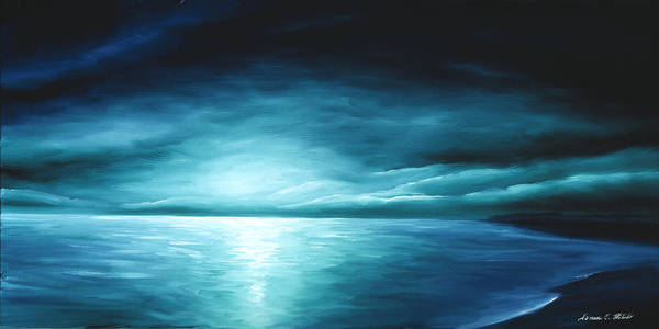Painting - Moonrise II by James Christopher Hill