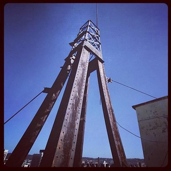 Politicians Wall Art - Photograph - Mooring Mast by Thomas Jefferson Tower