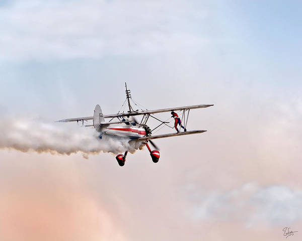 Photograph - More Wing Walking by Endre Balogh