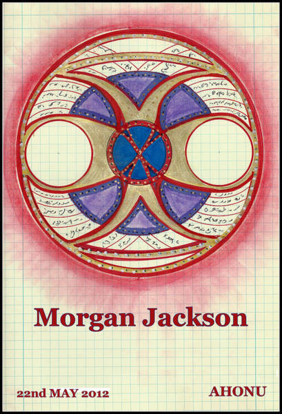 Painting - Morgan Jackson by Ahonu