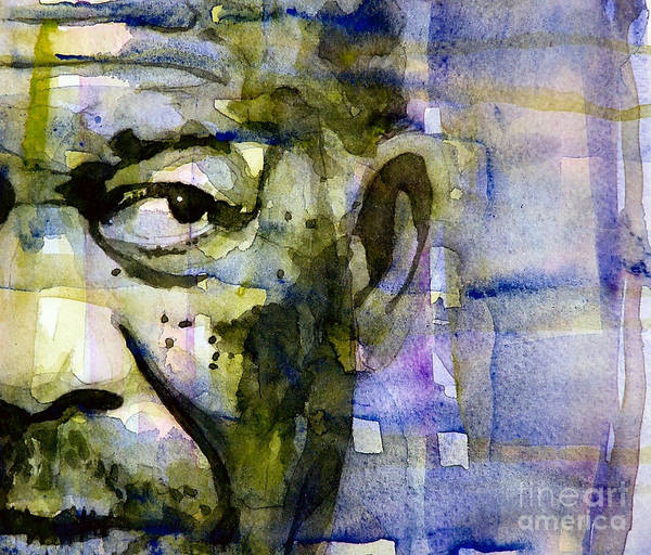 Freeman Wall Art - Painting - Morgan by Paul Lovering