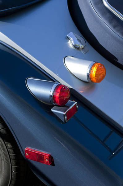Photograph - Morgan Plus 8 Tail Lights by Jill Reger