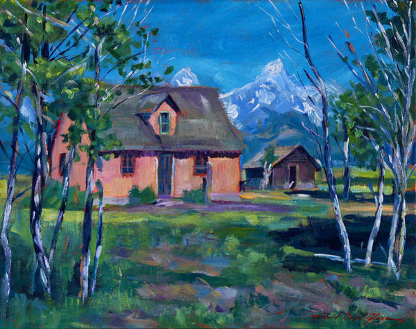 Painting - Mormon's Row by David Lloyd Glover