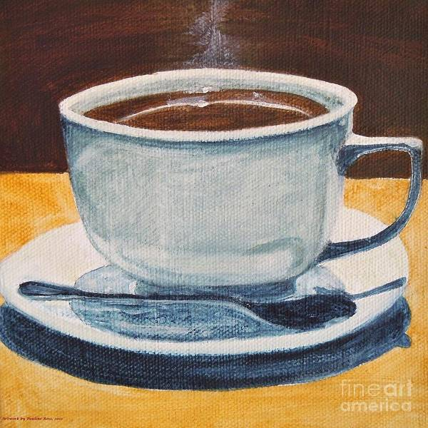 Wall Art - Painting - Morning Brew by Pauline Ross