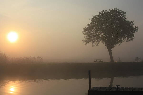 Warwickshire Photograph - Morning Calm by Linsey Williams