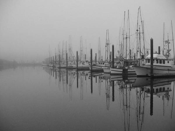 Photograph - Morning Fog by HW Kateley
