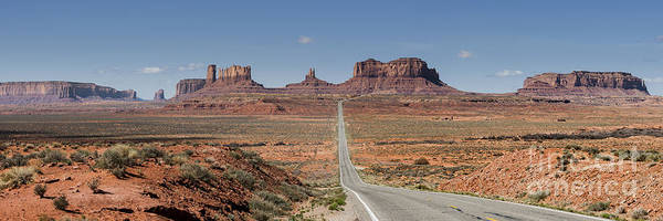 Wall Art - Photograph - Morning In Monument Valley by Sandra Bronstein