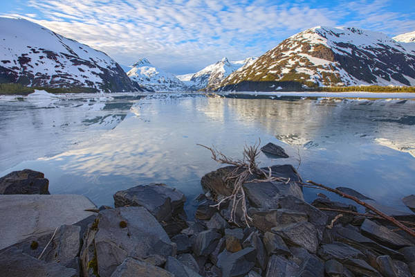High Definition Photograph - Morning Light At Portage Lake by Tim Grams