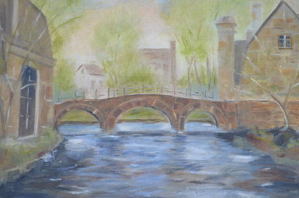 Wall Art - Painting - Morning On The Meuse by Patricia Caldwell
