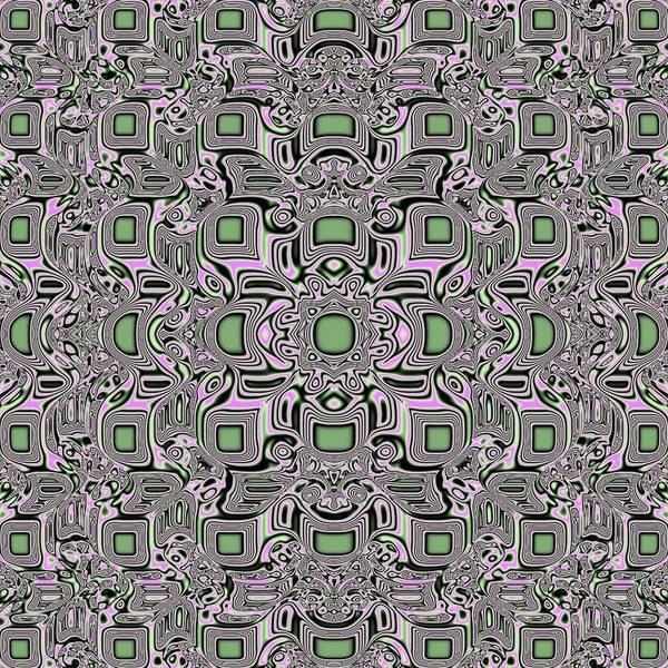 Jade Mixed Media - Mosaic Jade Pattern by Deborah Juodaitis