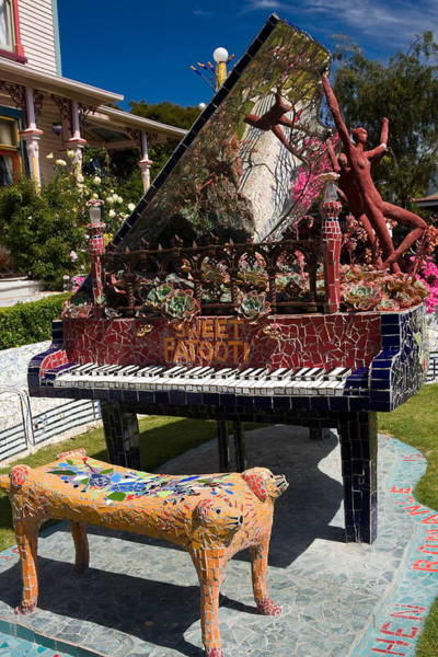 Wall Art - Photograph - Mosaic Piano Sculpture by Sally Weigand