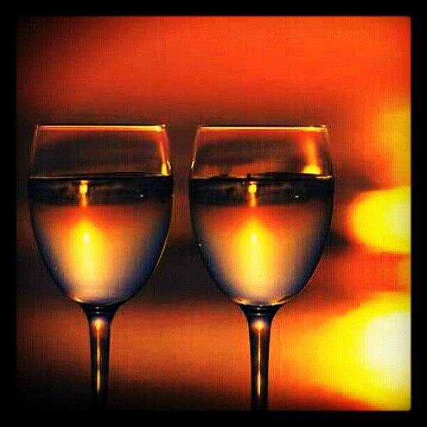 Wall Art - Photograph - Moscato For 2...delish! #wine #vino by Mary Carter