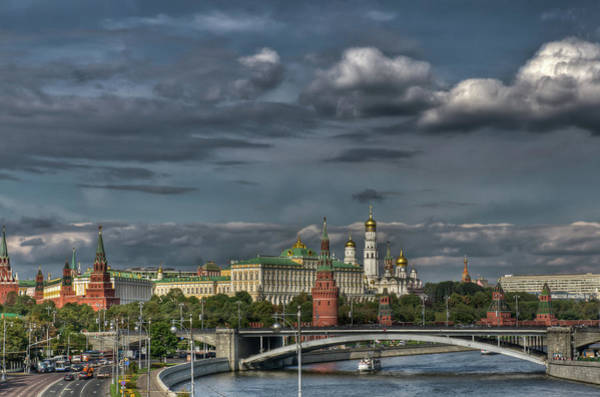 Photograph - Moscow Kremlin by Michael Goyberg