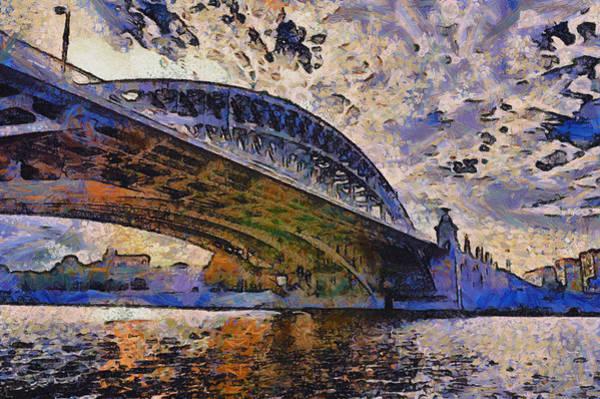 Photograph - Moscow's Bridges by Michael Goyberg