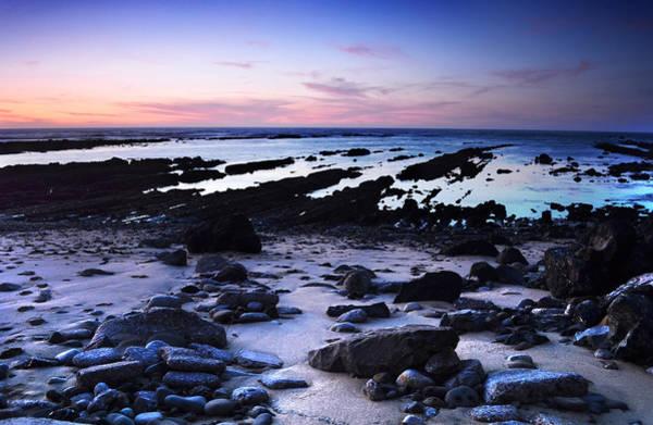 Moss Beach - Fitzgerald Reserve Shore Art Print