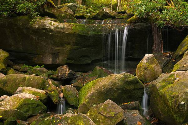 Photograph - Mossy Falls II by Ryan Heffron