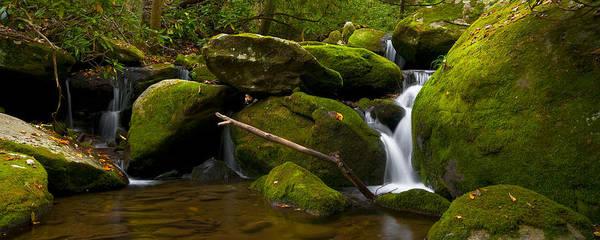 Photograph - Mossy Falls IIi by Ryan Heffron