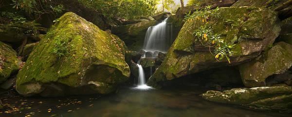 Photograph - Mossy Falls by Ryan Heffron