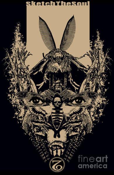 Mixed Media - Moth Of A Man by Tony Koehl