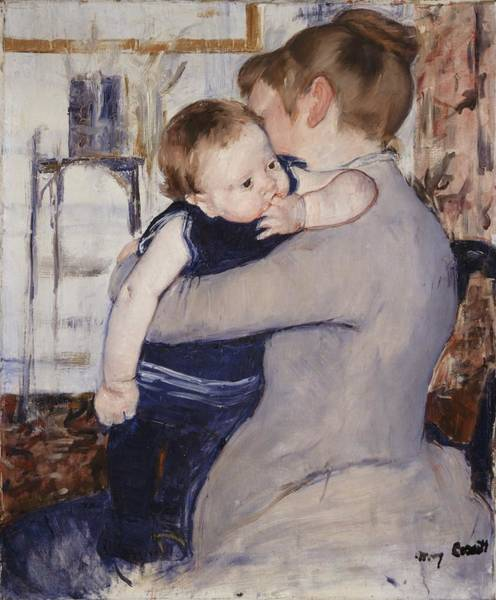 Motherhood Painting - Mother And Child by Mary Stephenson
