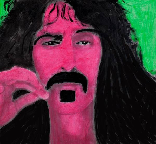 Frank Zappa Wall Art - Painting - Mother Of Invention by Frank Strasser