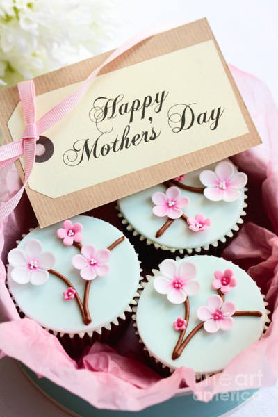 Wall Art - Photograph - Mother's Day Cupcakes by Ruth Black